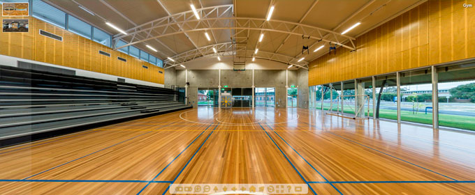 StMary's Gym, basic custom tour example